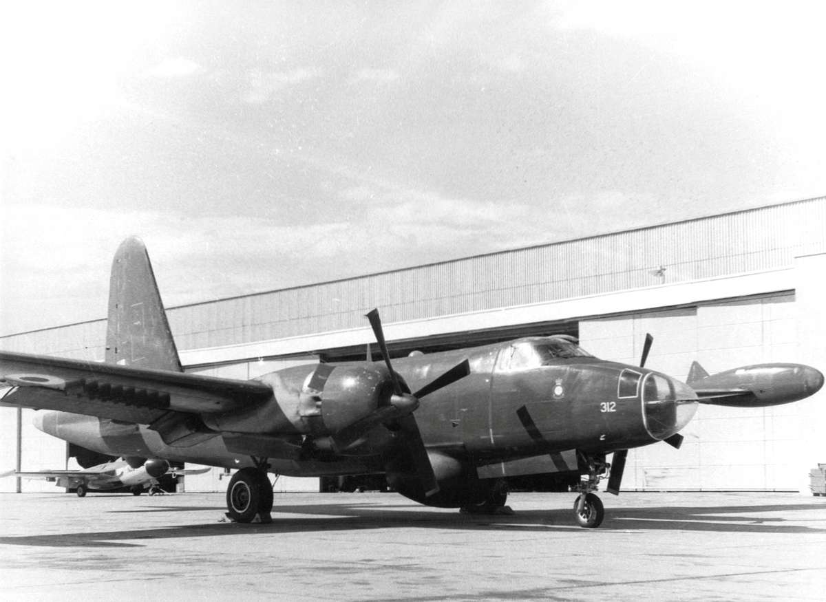 RAAF P2V Neptune RANAS Nowra