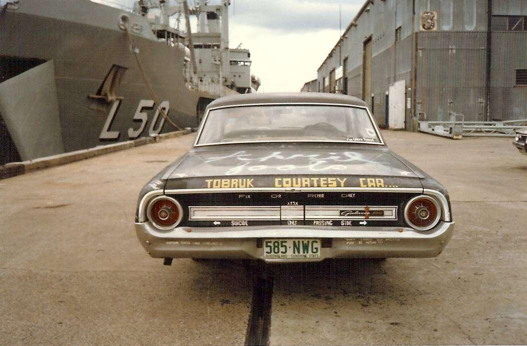 Tobruk - Ship's Car - 2 1983