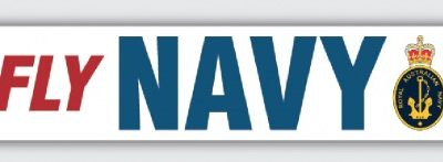 Fly Navy Stickers